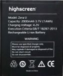 Highscreen (Zera U) 2300mAh Li-ion (усиленная)