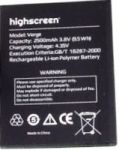 Highscreen (Verge) 2800mAh Li-ion (усиленная)