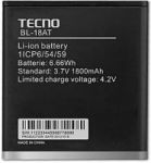 Tecno S5 (BL-18AT) 2100mAh Li-ion (усиленная)