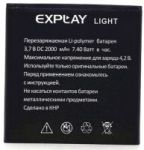Explay (Light) 1600mAh Li-polymer (усиленная)