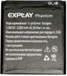 Explay (Phantom) 2500mAh Li-polymer (усиленная)