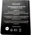 4Good S600M 3G (BLI-2600) 2900mAh Li-ion (усиленная)